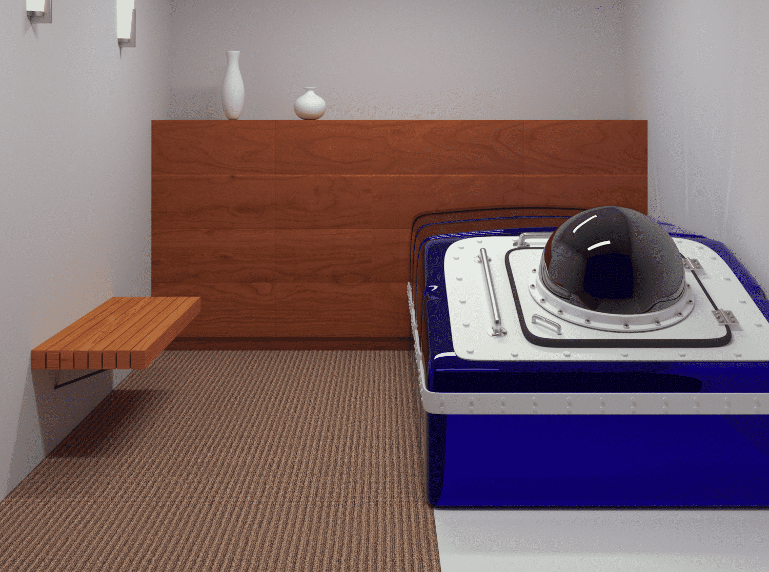 Float Room Render